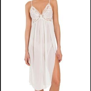 In Bloom By Jonquil Chemise Slip Dress White XS